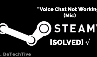 [SOLVED] Steam Voice Chat Not Working Problem