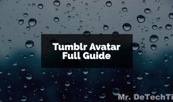 Tumblr Avatar Guide: All You Need to Know [2017]