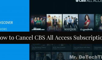 How to Cancel CBS All Access Subscription [GUIDE]