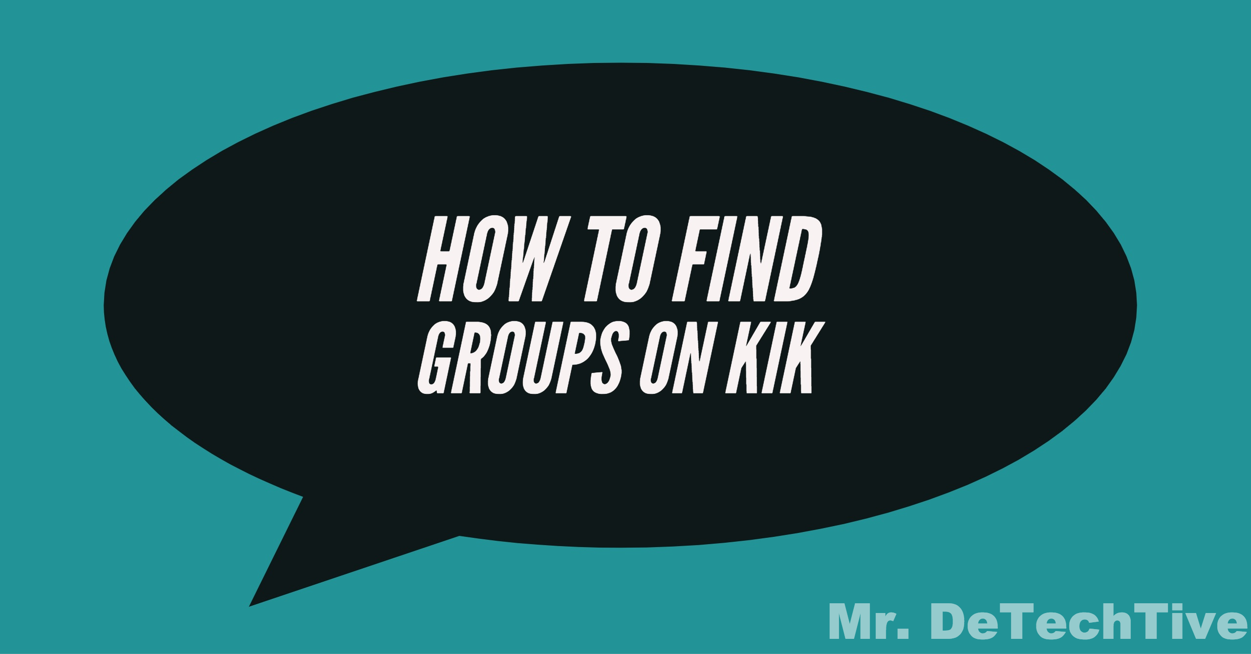 How to search for kik groups
