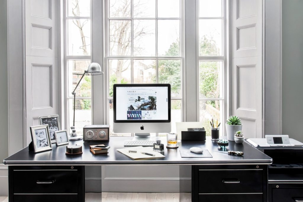 marvellous home office interior design ideas   Ten Sleek Home Office Interior Design Ideas